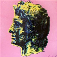 alexander the great, [iib.291] by andy warhol